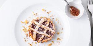 Crostata di pasta frolla con Arancia e Cannella