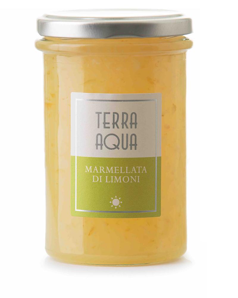 Terra Aqua marmellata di limoni limoni famulari coltivati e lavorati in sicilia