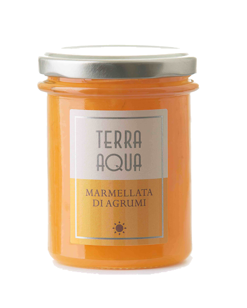 Terra Aqua marmellata di agrumi misti agrumi coltivati e lavorati in sicilia
