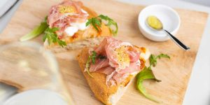 ricette dalla cucina del nostro chef Pizza Gourmet con Prodotto Coctura di Limoni e prosciutto crudo